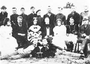 У Билећи 1924. године - глумци ''Ревизор''-а