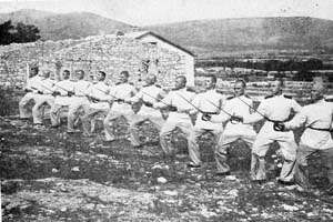 Вјежба 37. класе у Билећи
