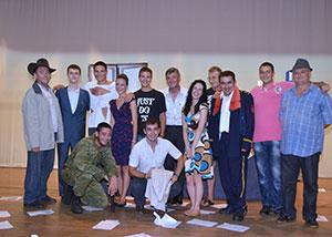 актери представе СУМЊИВО ЛИЦЕ
