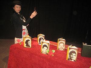 Драгана Мискин на сцени у Требињу