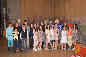 актери представе Успавана љепотица у Гацку
