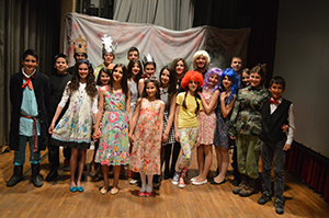 актери представе Успавана љепотица у Билећи