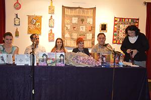 писци ЗК ''Освит'' на књижевној вечери у Раковици
